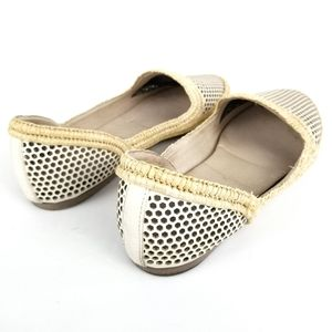Eileen Fisher Shoes - Eileen Fisher Etch Mirrored Perforated Jute Flat
